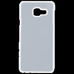 Coque Rigide Transparent et plaque Alu pour Samsung A3 2016