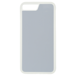 Coque Souple Transparent et plaque Alu pour Apple iPhone 7/8 Plus