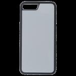 Coque Souple Noir et plaque Alu pour Apple iPhone 7/8 Plus