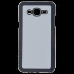 Coque Souple Noir et plaque Alu pour Samsung J7 2016