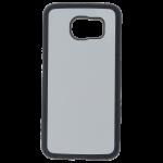 Coque Souple Noir et plaque Alu pour Samsung S6 Edge+