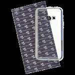 Coque TPU Ultra Hybrid Argent pour Samsung J1 2016