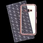 Coque TPU Ultra Hybrid Rose pour Samsung J1 2016