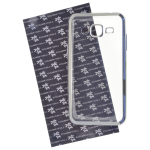 Coque TPU Ultra Hybrid Argent pour Samsung J3 2016