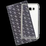 Coque TPU Ultra Hybrid Argent pour Samsung J5 2016