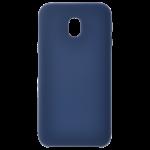 Coque Silicone Liquide Bleu pour Samsung J3 2017