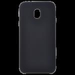 Coque Silicone Liquide Noir pour Samsung J3 2017