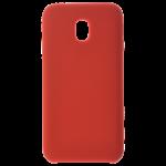 Coque Silicone Liquide Rouge pour Samsung J3 2017