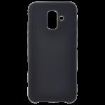 Coque Silicone Liquide noir pour Samsung A6 2018