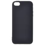 Coque TPU Soft Touch Noir pour Apple iPhone 5C