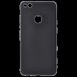 Coque TPU Soft Touch Noir Huawei P10 Lite