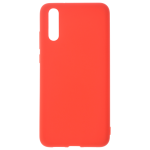 Coque TPU Soft Touch Rouge pour Huawei P20