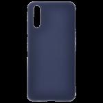Coque TPU Soft Touch Bleu pour Huawei P20