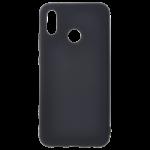 Coque TPU Soft Touch Noir pour Huawei P20 Lite