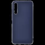 Coque TPU Soft Touch Bleu pour Huawei P20 Pro