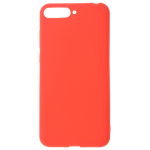 Coque TPU Soft Touch Rouge pour Huawei Y6 2018
