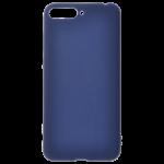 Coque TPU Soft Touch Bleu pour Huawei Y6 2018