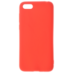 Coque TPU Soft Touch Rouge pour Huawei Y5 2018