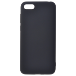 Coque TPU Soft Touch Noir pour Huawei Y5 2018