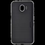 Coque Defender Card Noir pour Samsung J4 2018