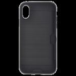 Coque Defender Card Noir pour Apple iPhone XR