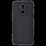 Coque TPU Soft Touch Noir pour Huawei Mate 20 Lite