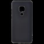 Coque TPU Soft Touch Noir pour Huawei Mate 20
