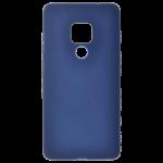 Coque TPU Soft Touch Bleu pour Huawei Mate 20