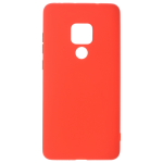 Coque TPU Soft Touch Rouge pour Huawei Mate 20