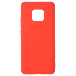 Coque TPU Soft Touch Rouge pour Huawei Mate 20 Pro
