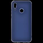 Coque TPU Soft Touch Bleu pour Huawei P Smart 2019