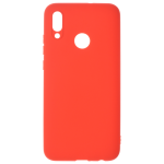 Coque TPU Soft Touch Rouge pour Huawei P Smart 2019