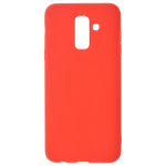 Coque TPU Soft Touch Rouge Samsung A6 Plus 2018