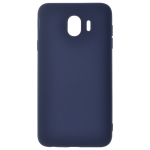 Coque TPU Soft Touch Bleu Samsung J4 2018