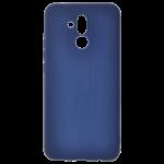 Coque TPU Soft Touch Bleu pour Huawei Mate 20 Lite