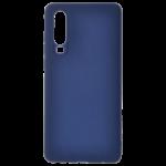 Coque TPU Soft Touch Bleu pour Huawei P30