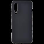 Coque TPU Soft Touch Noir pour Huawei P30