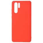 Coque TPU Soft Touch Rouge pour Huawei P30 Pro