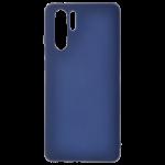 Coque TPU Soft Touch Bleu pour Huawei P30 Pro