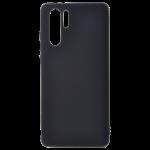 Coque TPU Soft Touch Noir pour Huawei P30 Pro
