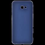 Coque TPU Soft Touch Bleu Samsung J4 Plus 2018
