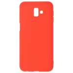 Coque TPU Soft Touch Rouge Samsung J6 Plus 2018