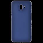 Coque TPU Soft Touch Bleu Samsung J6 Plus 2018