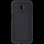Coque TPU Soft Touch Noir Samsung J6 Plus 2018