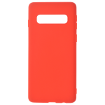 Coque TPU Soft Touch Rouge pour Samsung S10