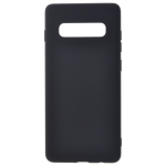 Coque TPU Soft Touch Noir pour Samsung S10