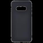 Coque TPU Soft Touch Noir pour Samsung S10 E