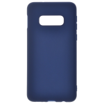 Coque TPU Soft Touch Bleu pour Samsung S10 E