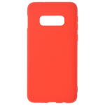 Coque TPU Soft Touch Rouge pour Samsung S10 E