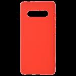 Coque TPU Soft Touch Rouge pour Samsung S10 Plus